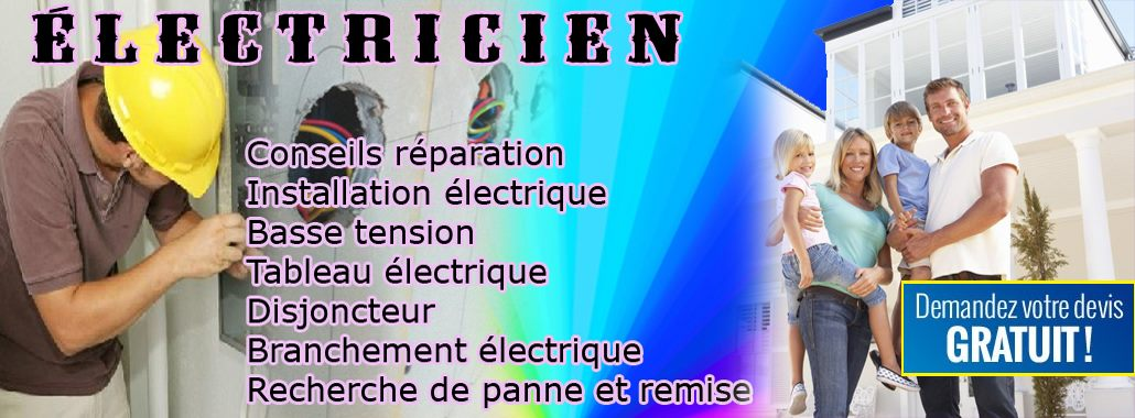 Electricien Meudon Allo depanage qualification electricien batiment Meudon 01.40.64.93.46